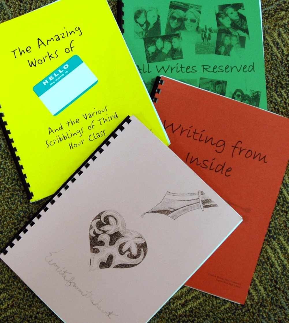 creative writing books for high school
