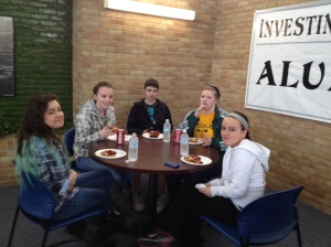 LCS high school students at a recent DEEP orientation.