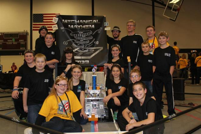 The R-W Robotics Team - Mechanical Mayhem.