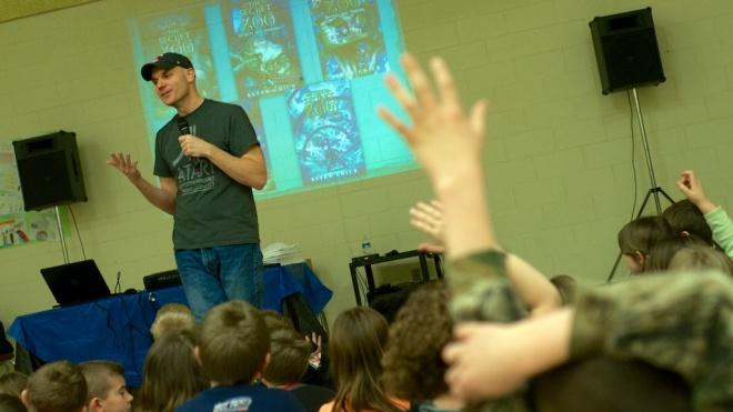Local author Bryan Chick