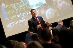 LCS Superintendent Matt Wandrie.