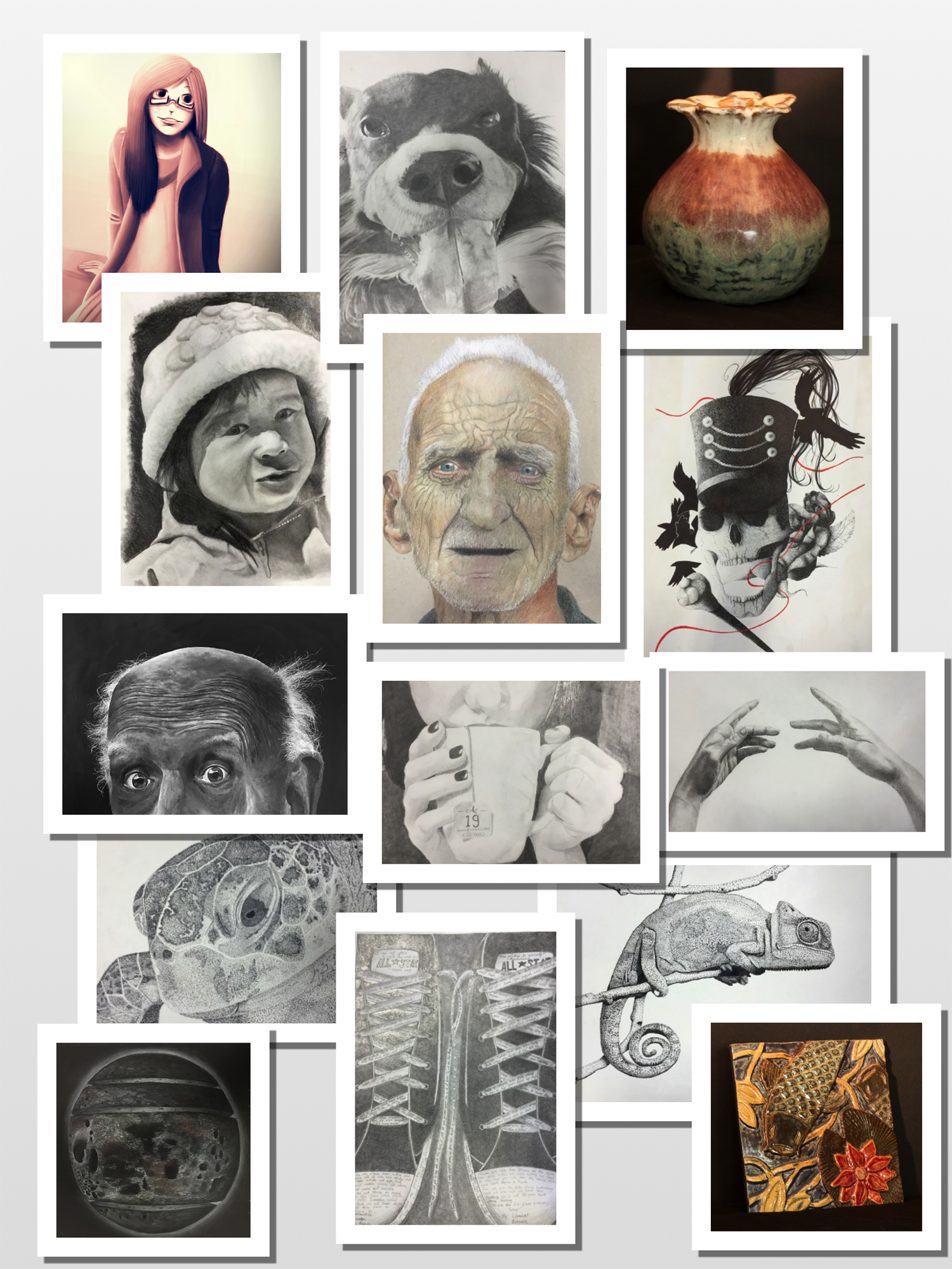LHS 2015 Scholastic Art and Writing Winners