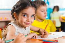kindergarten stock