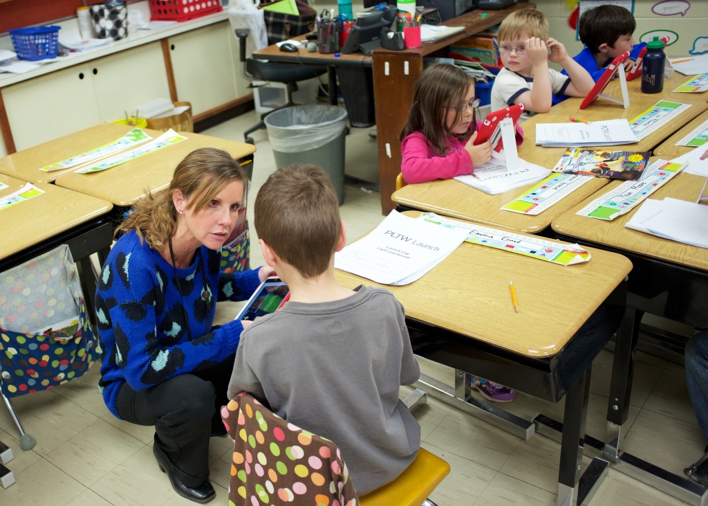 Cori Lomerson, of Lynch Elementary, was one of dozens of LCS teachers mentioned in response from the community during Teacher Appreciation Week this year.